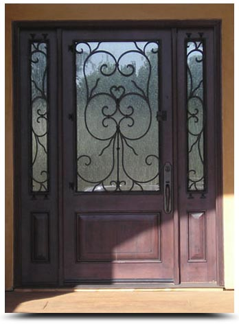 Charmant Wrought Iron Door Contractors