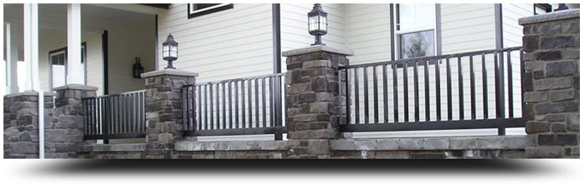 Emejing Wrought Iron Railings Exterior Ideas - Decoration Design ...